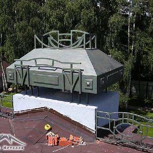 Дымник кованый ХК-ДИ-8