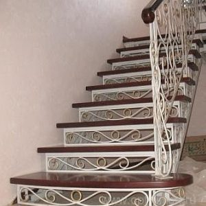 Лестница кованая ХК-Л-2