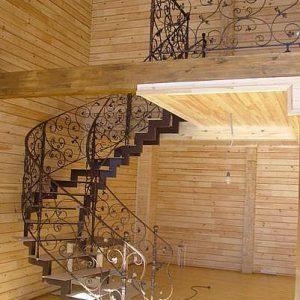 Лестница кованая ХК-Л-6