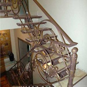 Лестница кованая ХК-Л-8