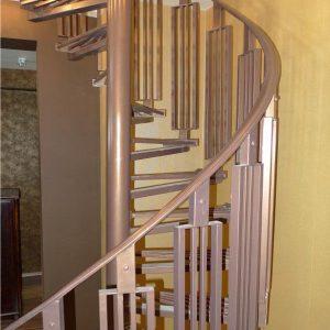 Лестница винтовая кованая ХК-ЛВ-2