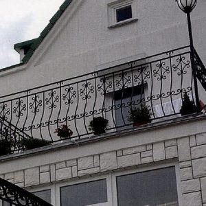 Ограждение балкона кованое ХК-ОБ-1