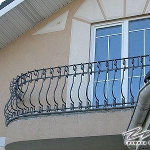 Ограждение балкона кованое ХК-ОБ-12