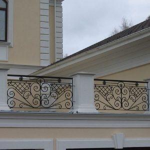 Ограждение балкона кованое ХК-ОБ-18