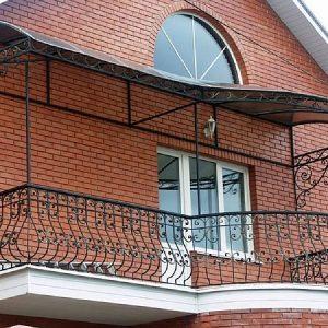 Ограждение балкона кованое ХК-ОБ-19
