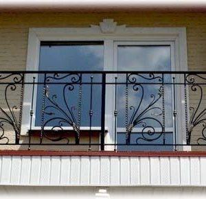 Ограждение балкона кованое ХК-ОБ-21