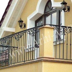 Ограждение балкона кованое ХК-ОБ-3