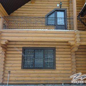 Ограждение балкона кованое ХК-ОБ-4