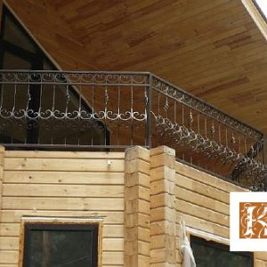 Ограждение балкона кованое ХК-ОБ-8