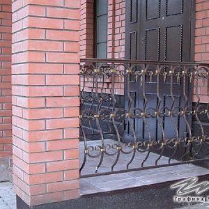 Перила лестничные кованые ХК-ПР-118