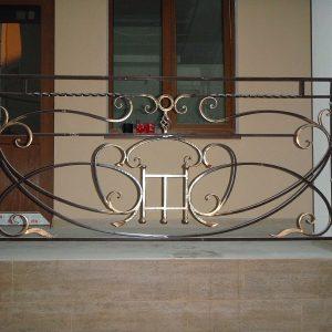 Перила лестничные кованые ХК-ПР-20