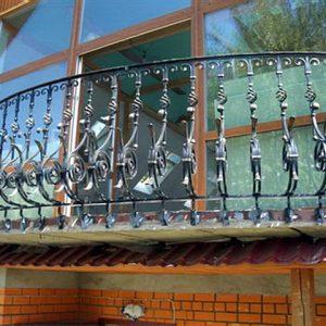 Перила лестничные кованые ХК-ПР-5