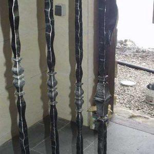 Перила лестничные кованые ХК-ПР-60