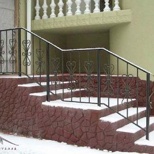 Перила лестничные кованые ХК-ПР-79