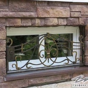 Решетка на окно кованая ХК-РО-1
