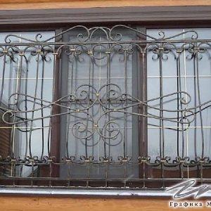 Решетка на окно кованая ХК-РО-14