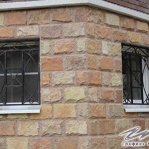 Решетка на окно кованая ХК-РО-15