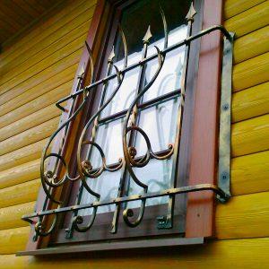 Решетка на окно кованая ХК-РО-26