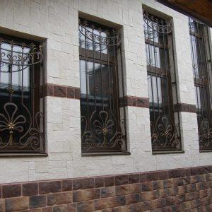 Решетка на окно кованая ХК-РО-27