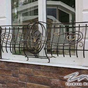 Решетка на окно кованая ХК-РО-3