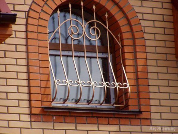 Решетка на окно кованая ХК-РО-33