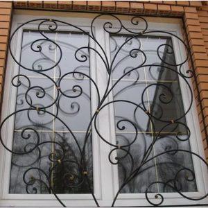 Решетка на окно кованая ХК-РО-35