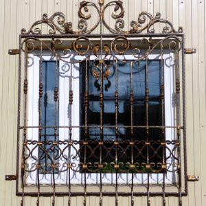 Решетка на окно кованая ХК-РО-37