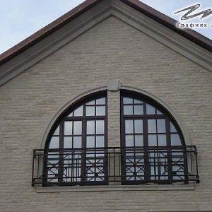 Решетка на окно кованая ХК-РО-4