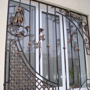 Решетка на окно кованая ХК-РО-40
