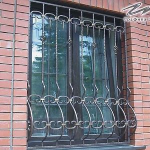 Решетка на окно кованая ХК-РО-6
