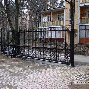 Ворота откатные кованые ХК-ВО-12