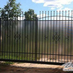 Ворота откатные кованые ХК-ВО-18