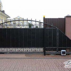 Ворота откатные кованые ХК-ВО-19