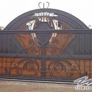 Ворота откатные кованые ХК-ВО-3