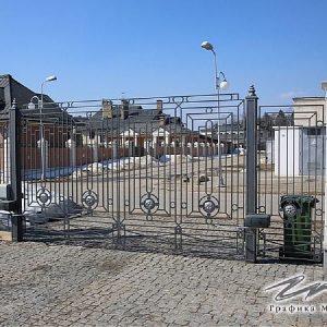 Ворота распашные кованые ХК-ВР-10