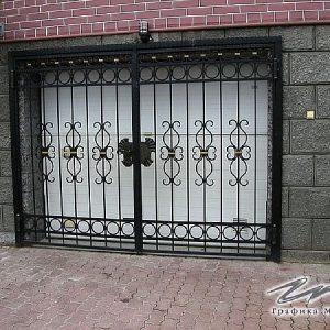 Ворота распашные кованые ХК-ВР-15