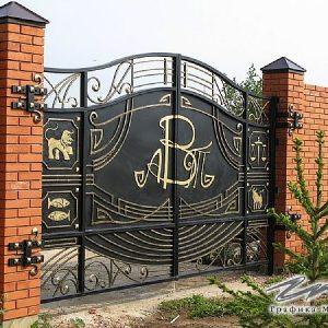 Ворота распашные кованые ХК-ВР-21