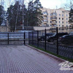 Ворота распашные кованые ХК-ВР-23
