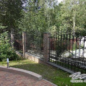 Забор кованый ХК-З-15
