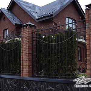 Забор кованый ХК-З-16