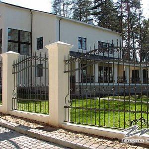 Забор кованый ХК-З-17