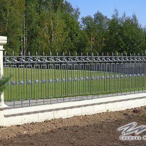 Забор кованый ХК-З-19