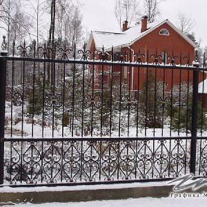 Забор кованый ХК-З-20