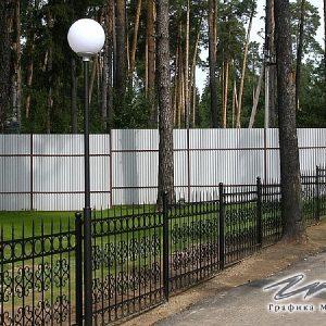 Забор кованый ХК-З-22