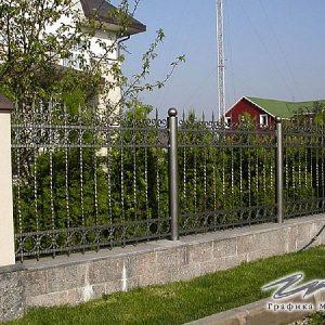 Забор кованый ХК-З-23
