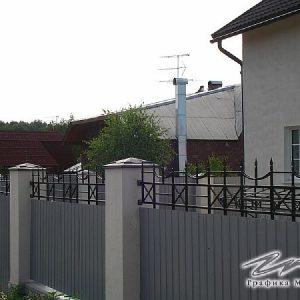 Забор кованый ХК-З-29
