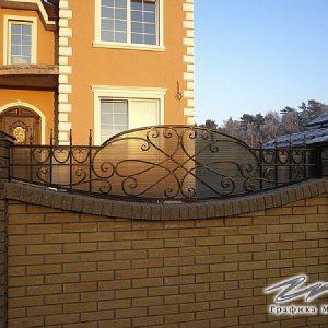 Забор кованый ХК-З-3