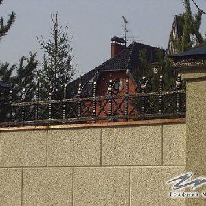 Забор кованый ХК-З-30