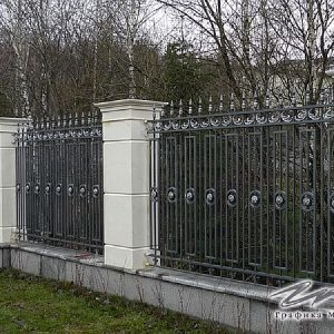 Забор кованый ХК-З-4