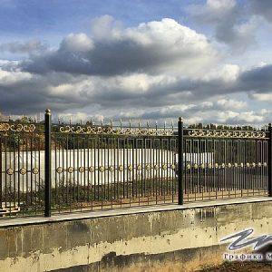 Забор кованый ХК-З-6